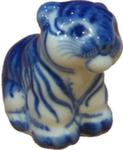 Скульптура «Тигр сидит» авт. Н. и В. Бидак
