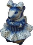 Скульптура «Мышь Принцесса» авт. Н. и В. Бидак