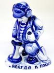 1 Скульптура «Искатель» авт. С. Малкин