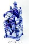 Скульптура «Шут и корона» авт. В. И Л. Черновы