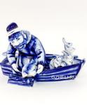 Скульптура «Дед Мазай и зайцы» авт. В. И Л. Черновы