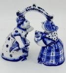 Скульптура «Балаболки» колокольчики авт. В. И Л. Черновы