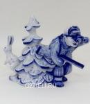 Скульптура «Где ты заяц» авт. В. И Л. Черновы