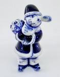 Скульптура «Заяц Дед Мороз» авт. В. И Л. Черновы