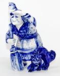 Скульптура «Баба Яга с филином» авт. В. И Л. Черновы