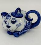 Мои чайнички «Кот б.» авт. М. Тарыгин