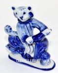 Скульптура тигр «Скутерист» авт. А. Киселев