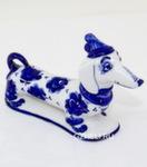 Скульптура собака «Такса» авт. А. Киселев