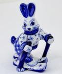 Скульптура заяц «На прогулке» авт. А. Киселев
