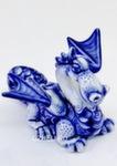 Скульптура дракон «Домашний» авт. А. Киселев