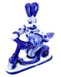 Скульптура заяц «На самокате» авт. А. Киселев