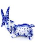 Скульптура коза «Анюта» авт. А. Киселев