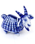Скульптура коза «Тибетская» авт. А. Киселев