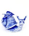 Скульптура улитка «Уля» авт. А. Киселев