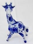 Скульптура жирафчик «Женя» авт. А. Киселев