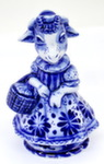 Скульптура коза «Красная шапочка» авт. А. Киселев