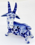 Скульптура коза «Бэлла» авт. А. Киселев