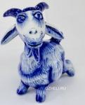 Скульптура коза «Гордячка» авт. А. Киселев