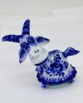 Скульптура коза «Сидоровна» авт. А. Киселев