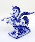 Скульптура конь «Пегас» авт. А. Киселев