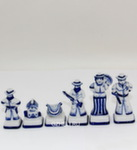 Композиция шахматная «Индейцы и ковбои» белые авт. Ю. Гаранин