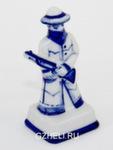 Композиция шахматная «Индейцы и ковбои Слон» белые авт. Ю. Гаранин