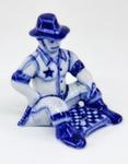 Скульптура «Шериф с шахматами» авт. Ю. Гаранин