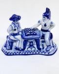 Скульптура «Шериф и индеец играют в шахматы» авт. Ю. Гаранин