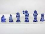 Композиция шахматная «Космос» черные авт. Ю. Гаранин
