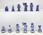 Композиция шахматная «Космос» авт. Ю. Гаранин