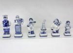 Композиция шахматная «650 лет Гжель» белые авт. Ю. Гаранин