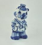 Скульптура «Тигр моряк» авт. Л. и А. Сидоровы