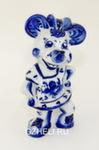 Скульптура «Мышь девочка» авт. Л. и А. Сидоровы