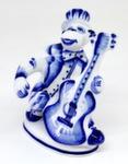 Скульптура «Обезьяна с гитарой» авт. С. Исаев