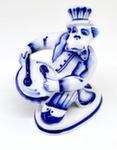 Скульптура «Обезьяна барабащик» авт. С. Исаев