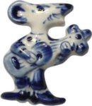 Скульптура «Мышь с гитарой» магнит авт. А. Савостьянова