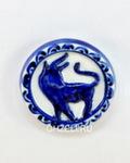 Скульптура «Знак зодиака Телец» магнит авт. А. Савостьянова