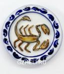 Скульптура «Знак зодиака Скорпион» цвет магнит авт. А. Савостьянова