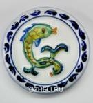 Скульптура «Знак зодиака Рыбы» цвет магнит авт. А. Савостьянова