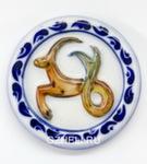 Скульптура «Знак зодиака Козерог» цвет магнит авт. А. Савостьянова