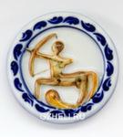 Скульптура «Знак зодиака Стрелец» цвет магнит авт. А. Савостьянова