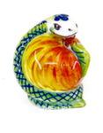 Скульптура «Змея с яблоком» цвет авт. А. Савостьянова