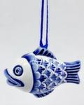 Скульптура «Елочная игрушка Рыбка» авт. А. Савостьянова