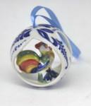 Скульптура «Елочная игрушка Петушок» цвет авт. А. Савостьянова