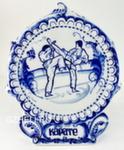 Скульптура «Карате» плакетка авт. Г. Шестакова