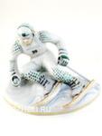 Скульптура «Горнолыжник» цвет авт. Г. Шестакова
