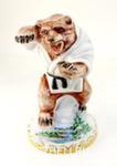 Скульптура «Медведь» цвет авт. Г. Шестакова