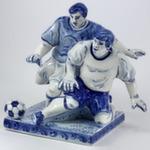 Скульптура «Футболисты» б. авт. Г. Шестакова