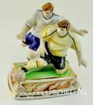 Скульптура «Футболисты» цвет авт. Г. Шестакова