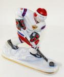 Скульптура «Хоккеист» цвет авт. Г. Шестакова